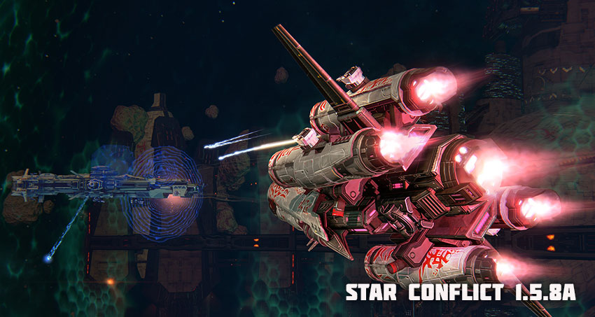 STAR CONFLICT — MMO SPACE ACTION - Actualités