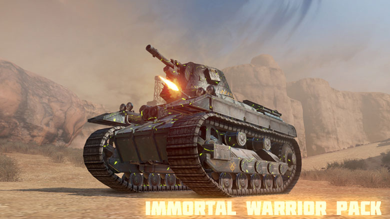 The 'Immortal Warrior' Pack - now in Store! - News - Crossout