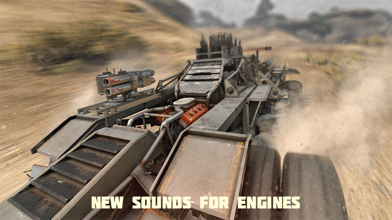 [News] New sounds for engines in Crossout!